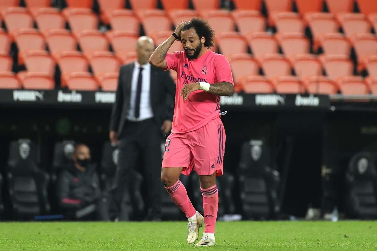 Marcelo e il Real Madrid sempre più lontani, la Juventus si avvicina