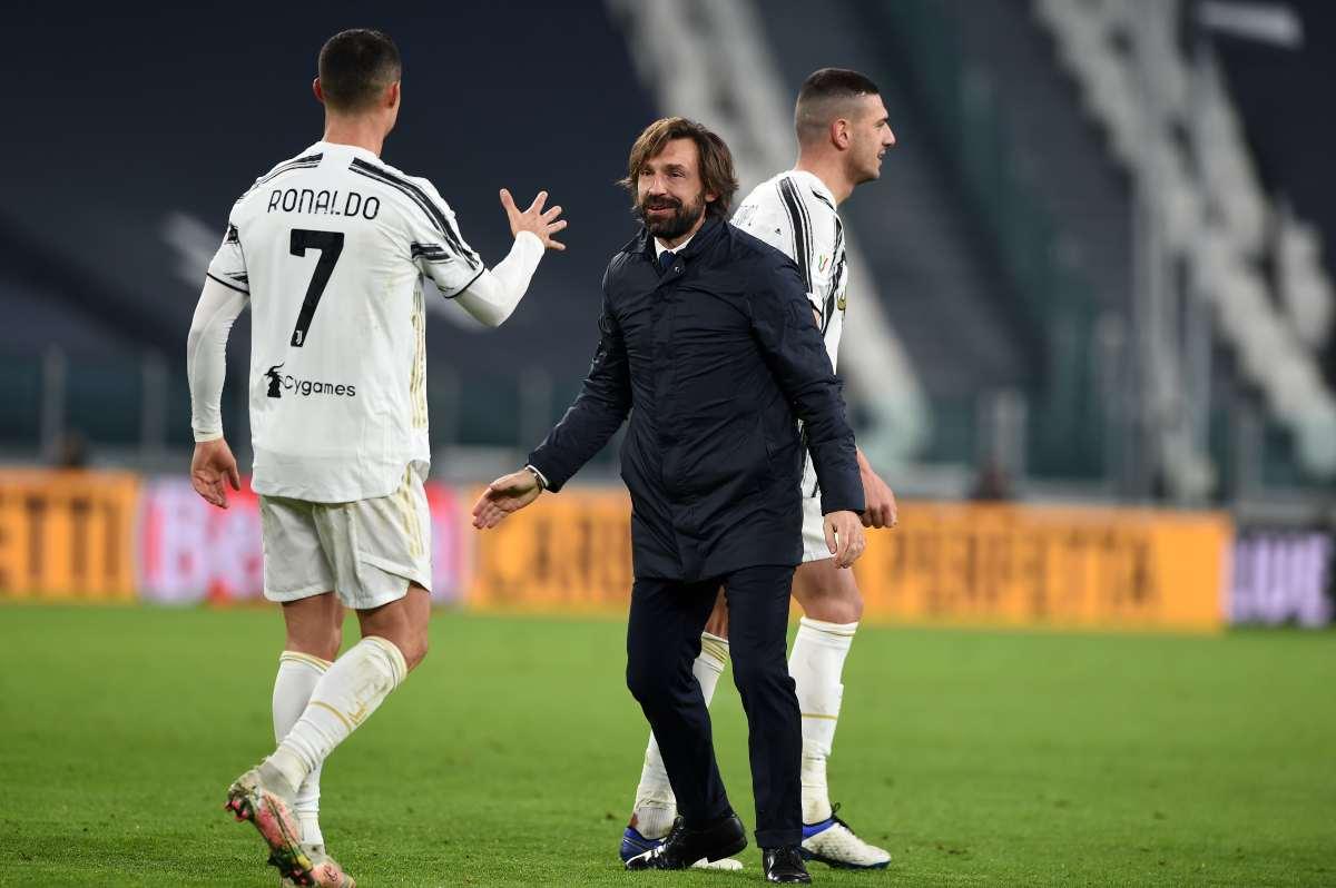 Pirlo e Ronaldo spingono per Marcelo