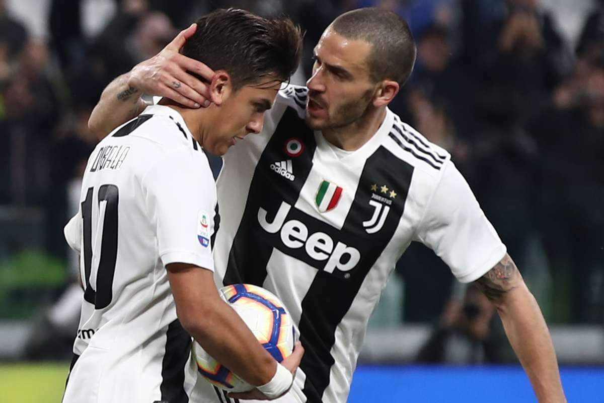 Porto-Juventus, Bonucci recuparibile, Dybala è un mistero