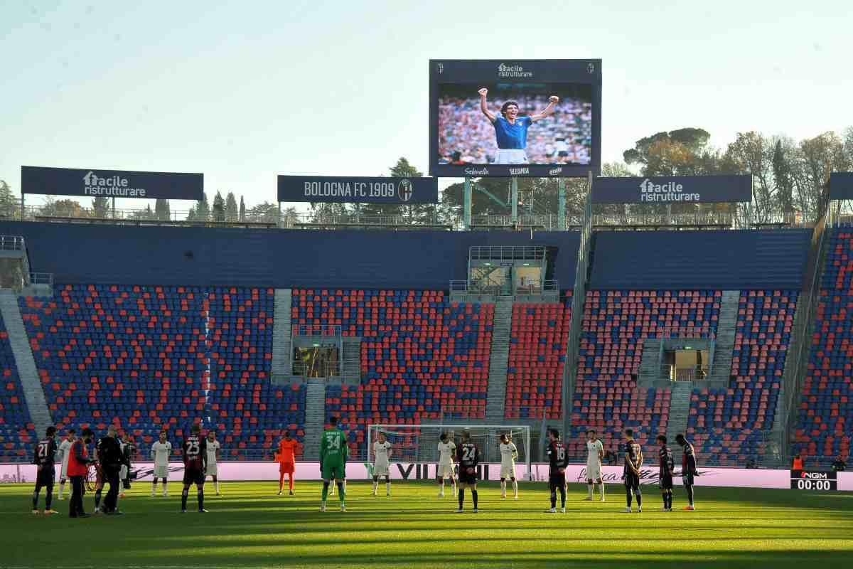 Bologna-Benevento streaming