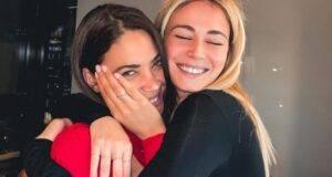 Abbraccio commovente tra Elodie e Diletta Leotta