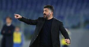 Gattuso potrebbe rimanere al Napoli