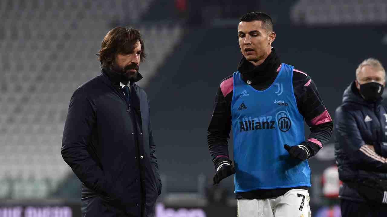 Calciomercato Juventus Cristiano Ronaldo Pirlo