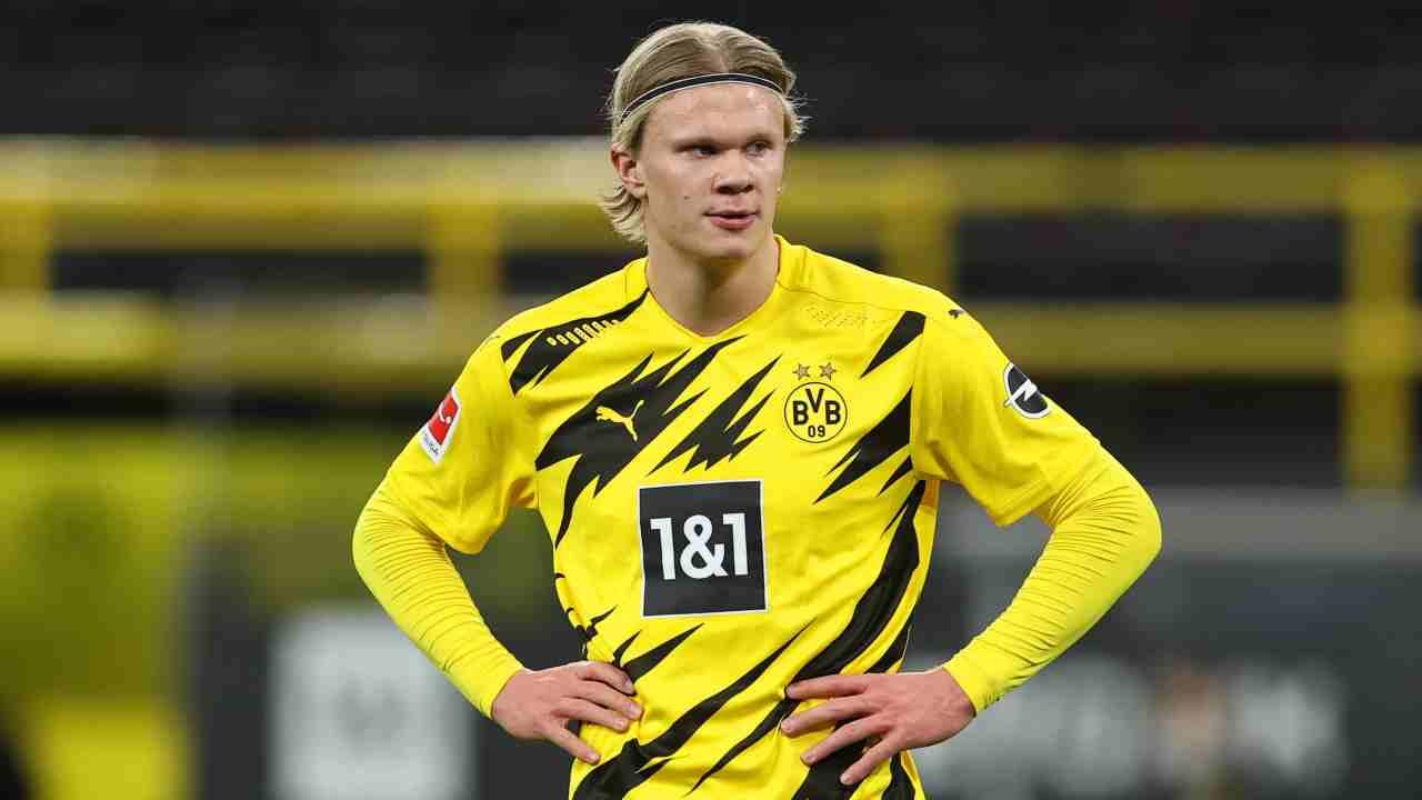 Calciomercato Haaland Chelsea Borussia Dortmund