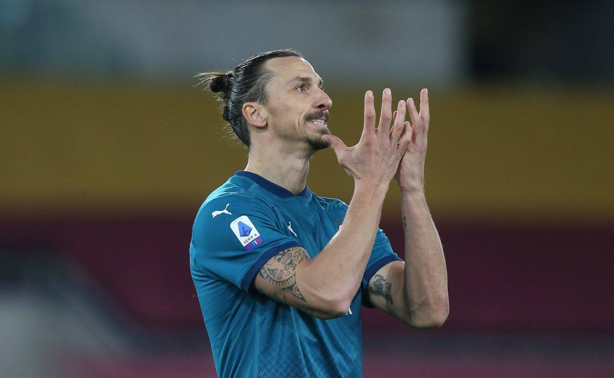 Ibrahimovic finisce ko contro la Roma