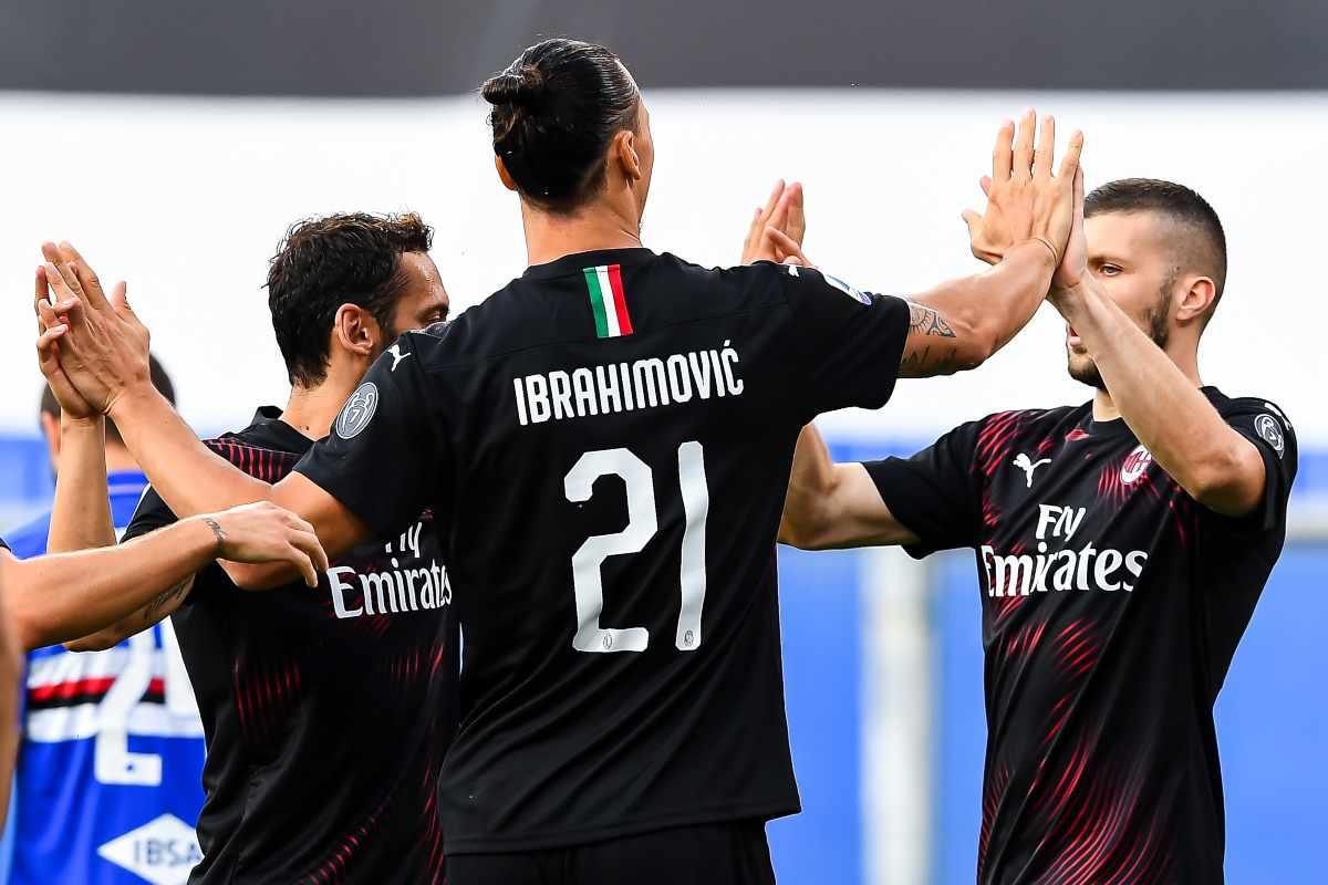 Il Milan perde tre big