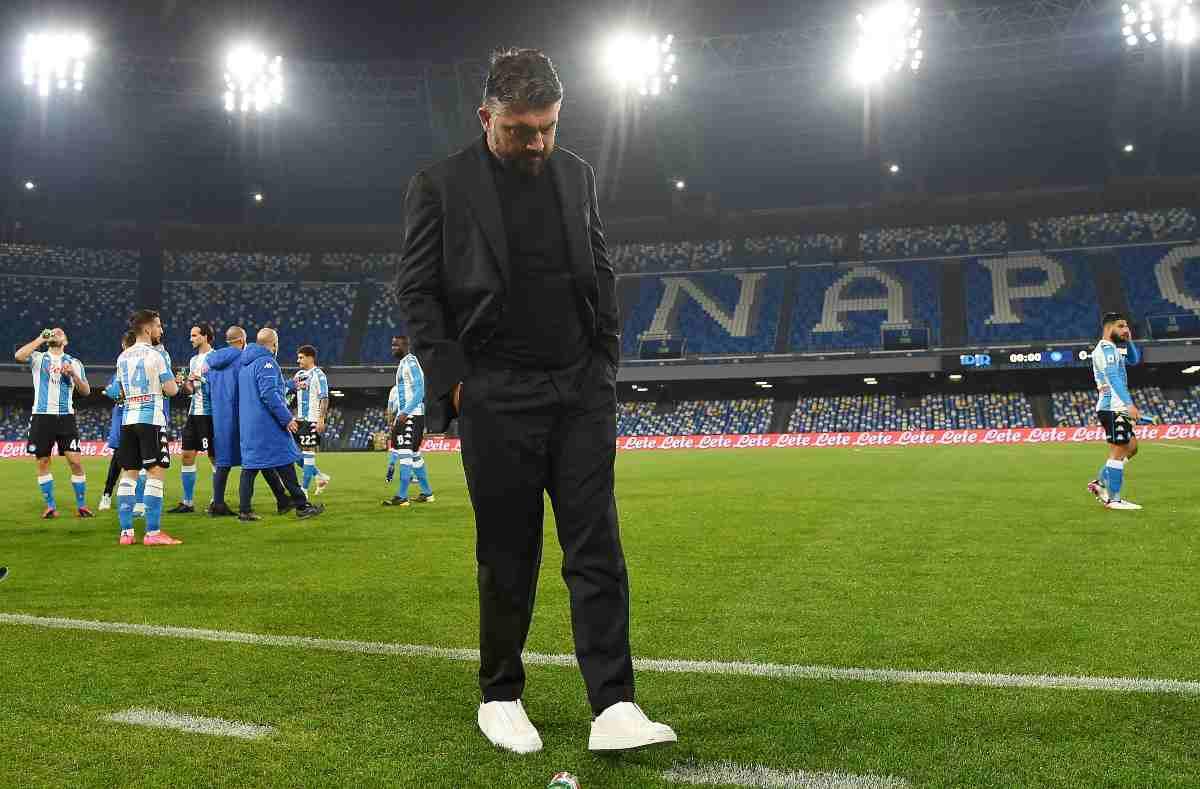 Gattuso-Napoli, ancora tutto da decidere