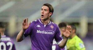 Calciomercato Milan Vlahovic Fiorentina Leao