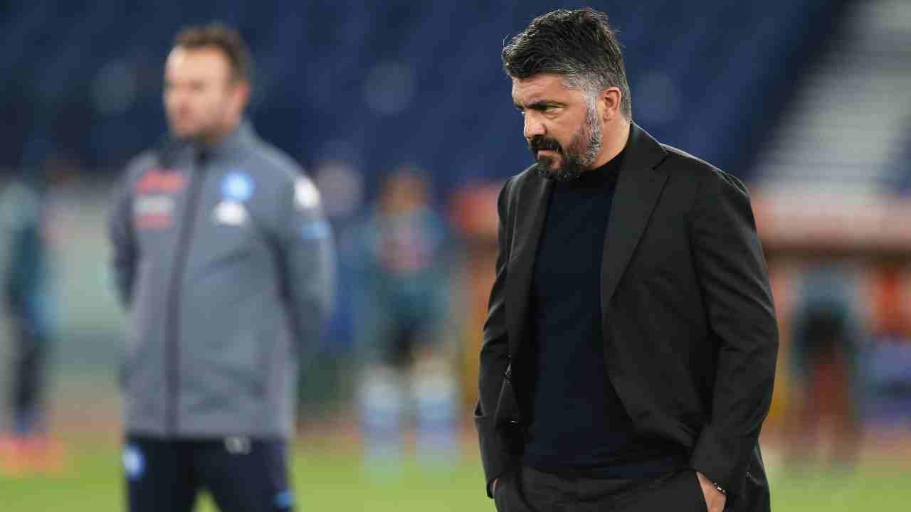 Calciomercato Napoli Gattuso Juric