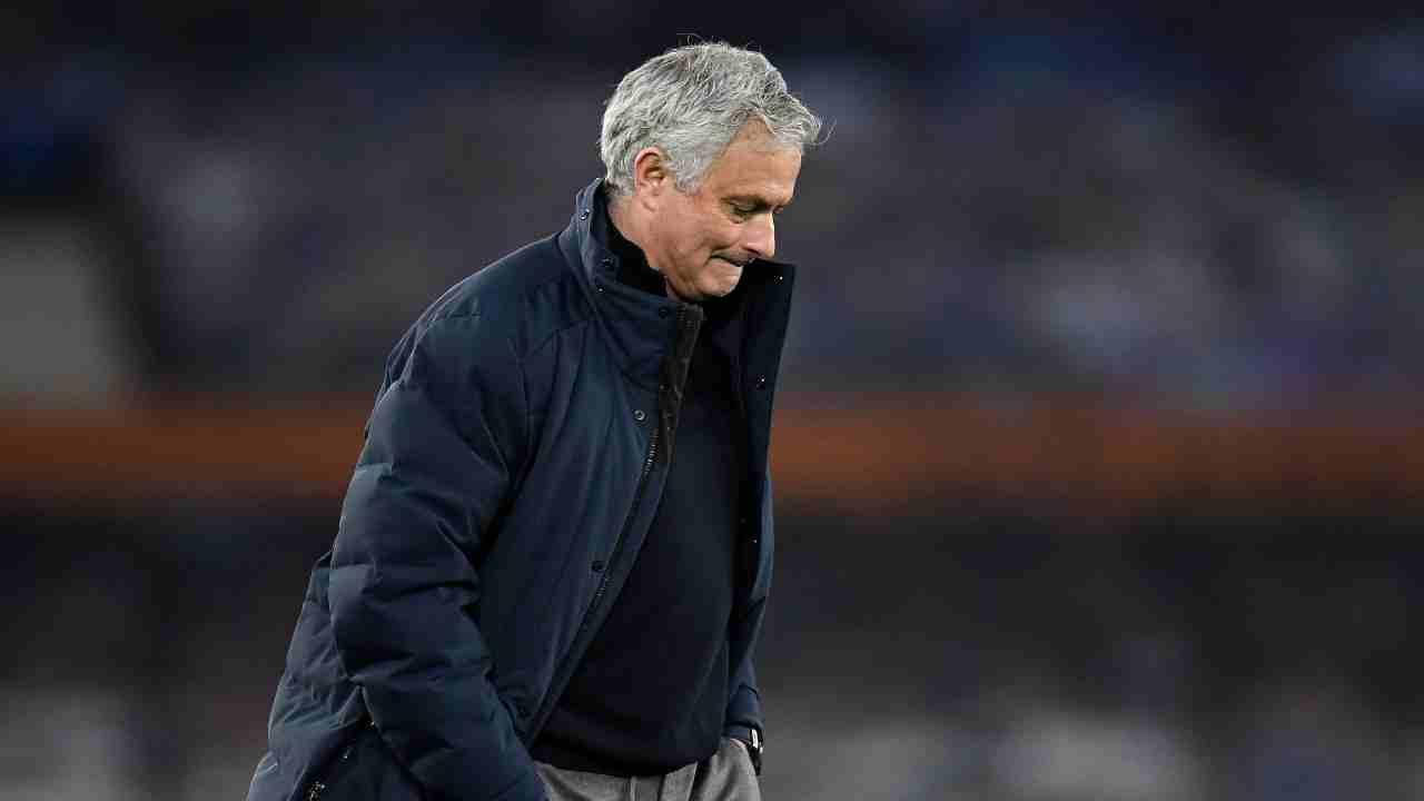 calciomercato Mourinho Roma