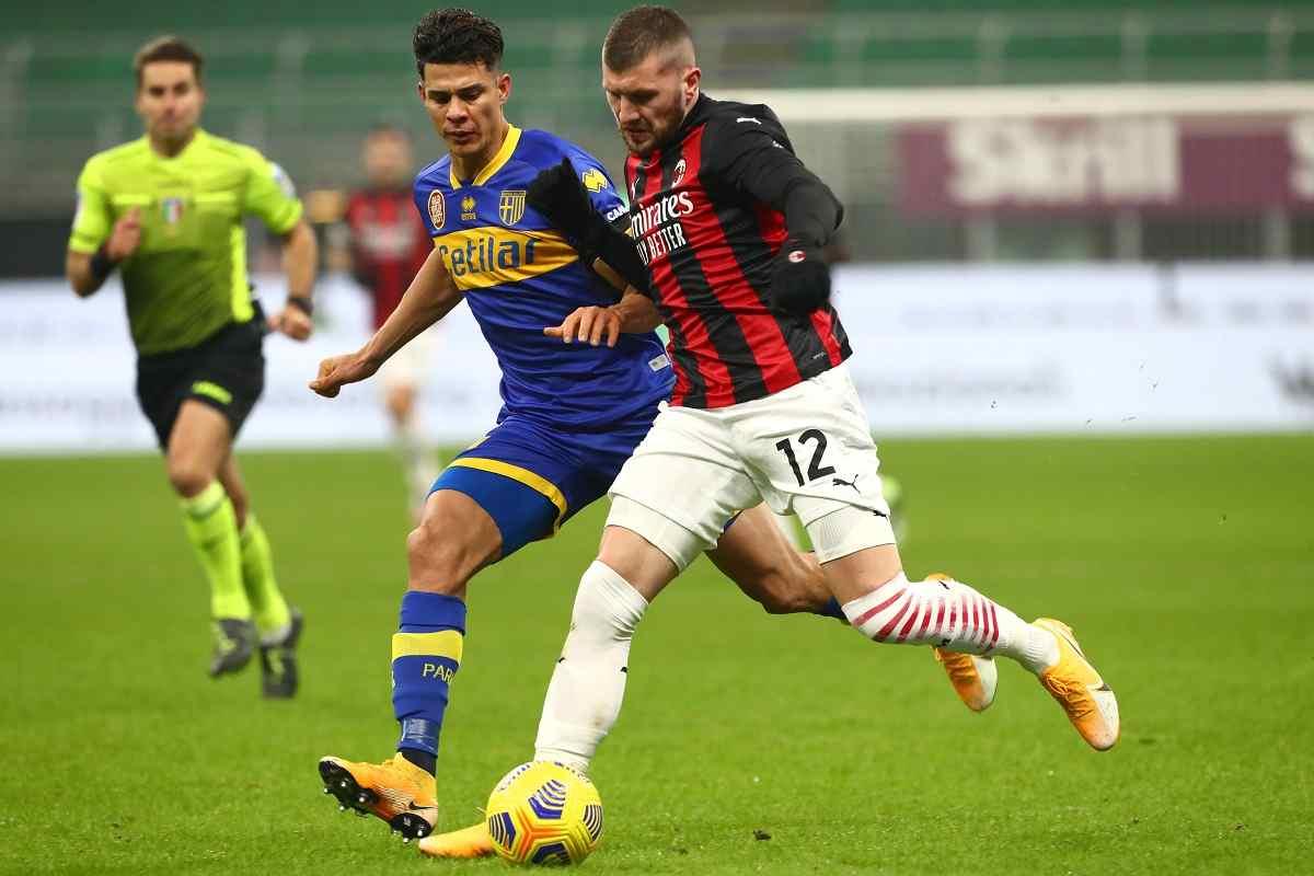 Milan-Parma