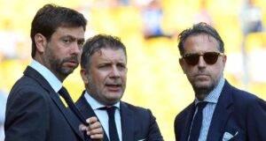 Juventus ripescaggio Champions