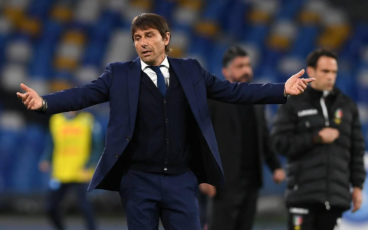 Conte e Marotta addio Inter