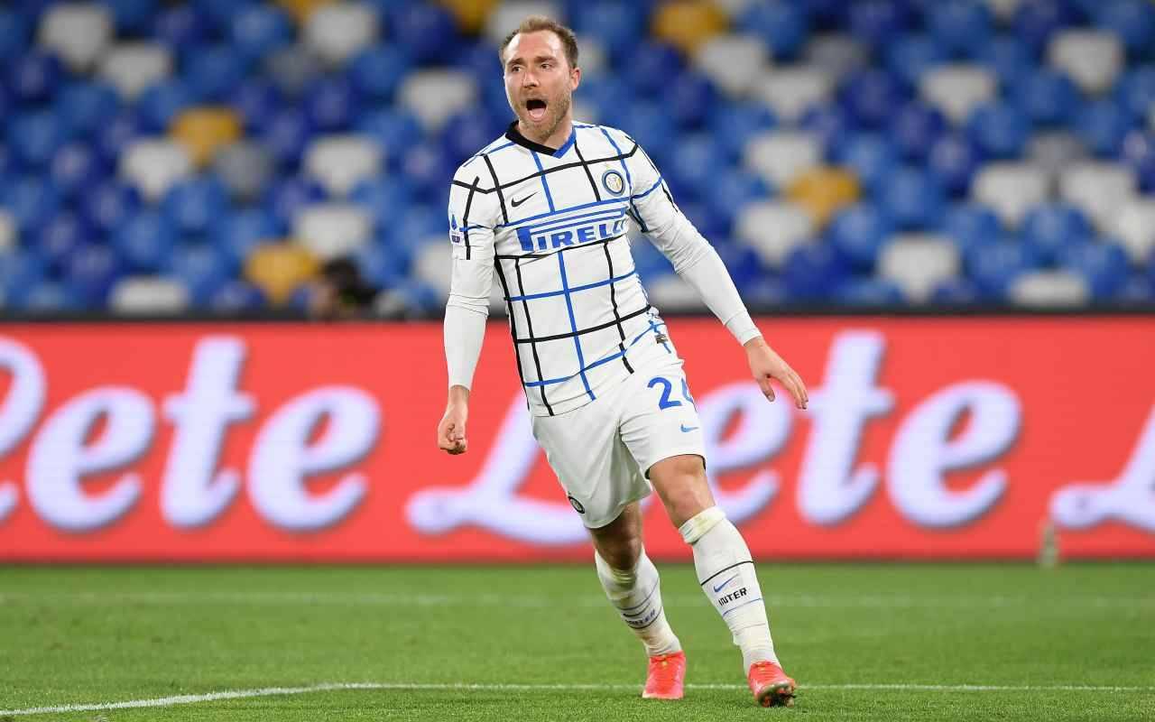 Eriksen addio Inter Tottenham