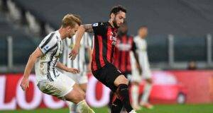 Milan, svolta Allegri Calhanoglu alla Juve