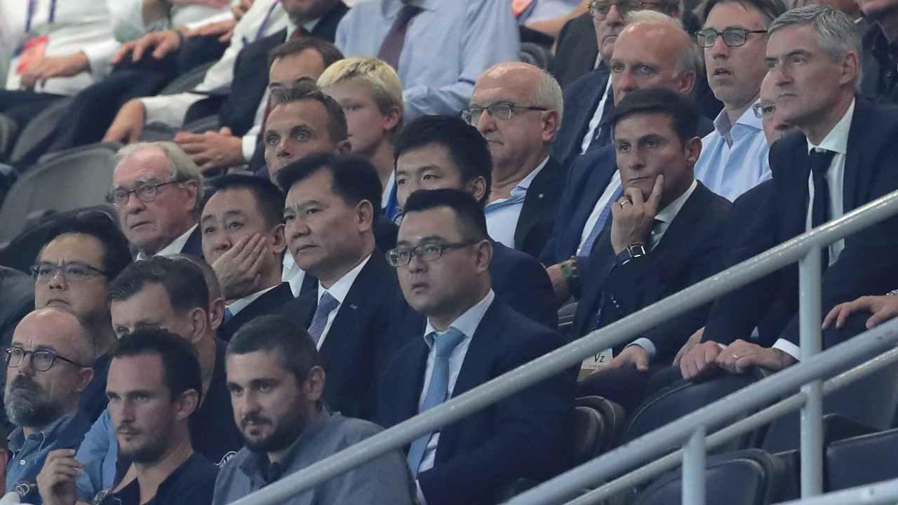 Inter Zhang Zanetti bilancio crisi