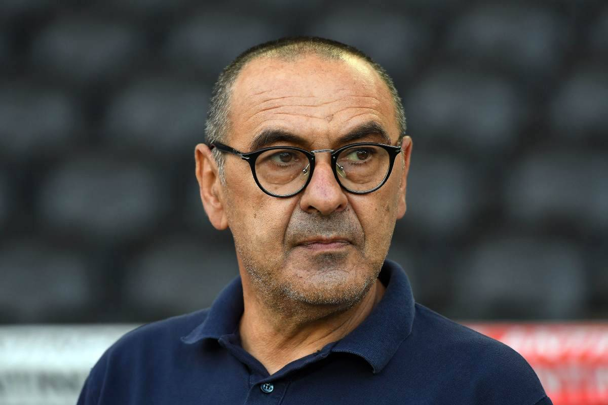 Sarri Juventus, brutte notizie per i bianconeri
