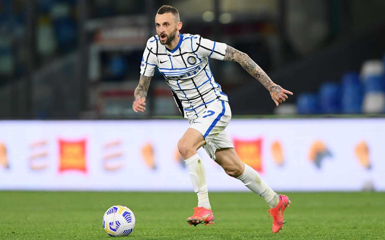 Scambio Brozovic Paredes Inter PSG