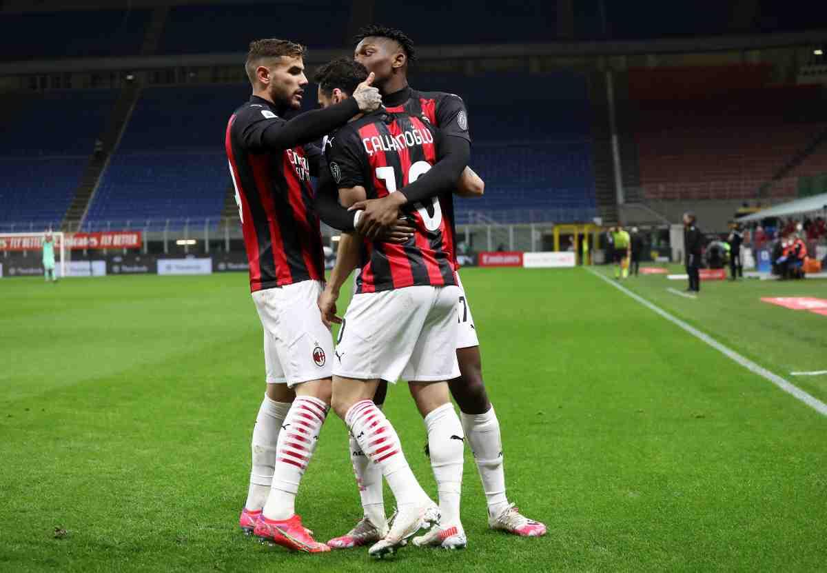 Milan squalifica Juventus