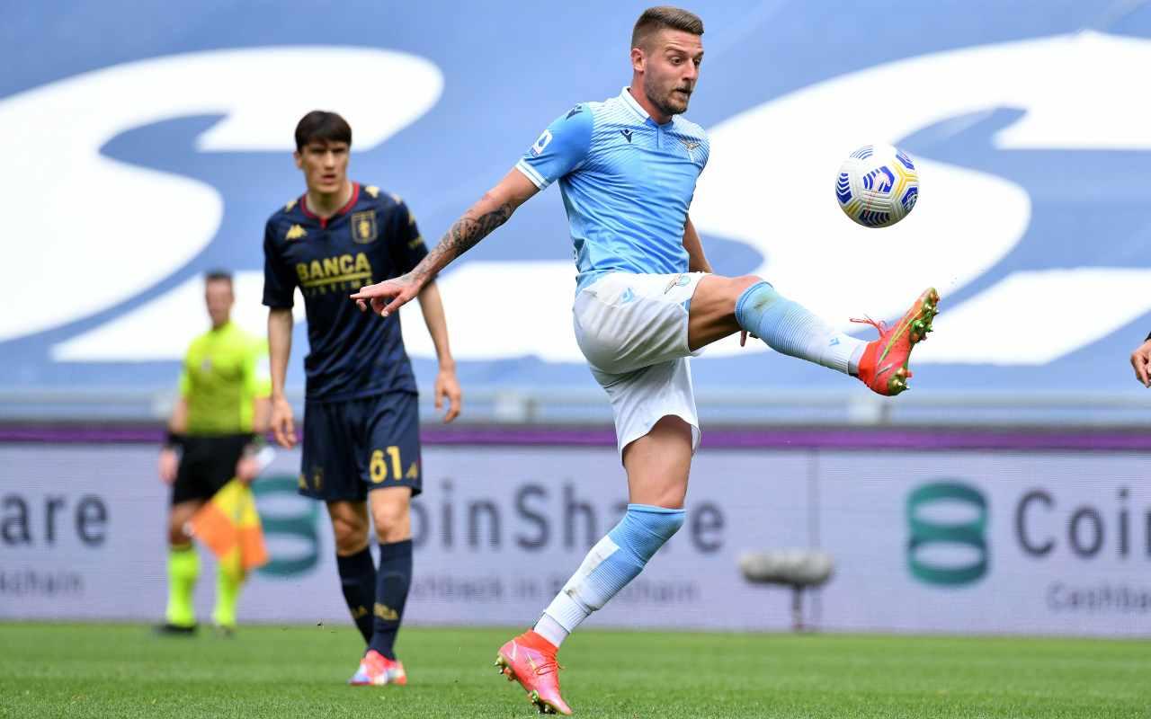 Milinkovic Savic Inter Conte