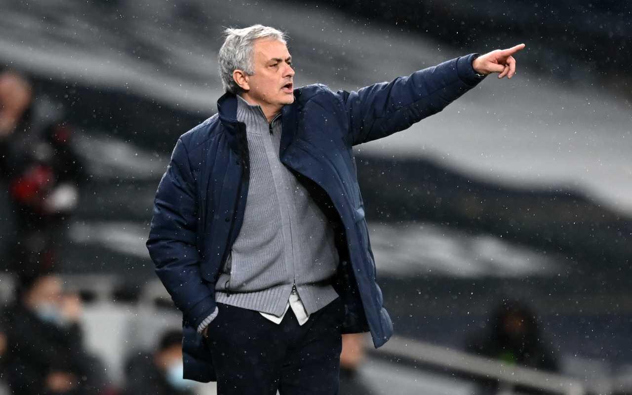 Scambio Villar Demiral Mourinho