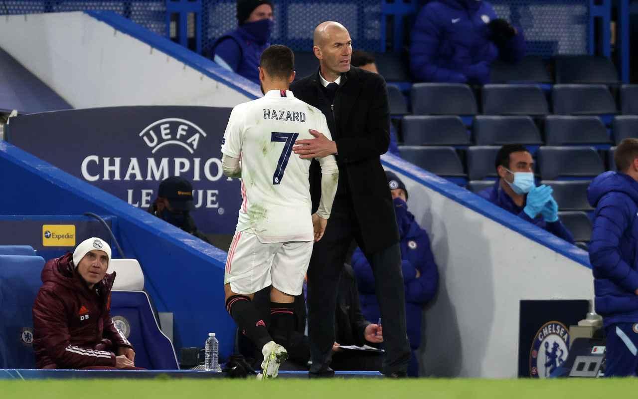 Allegri Zidane Juve rottura Real