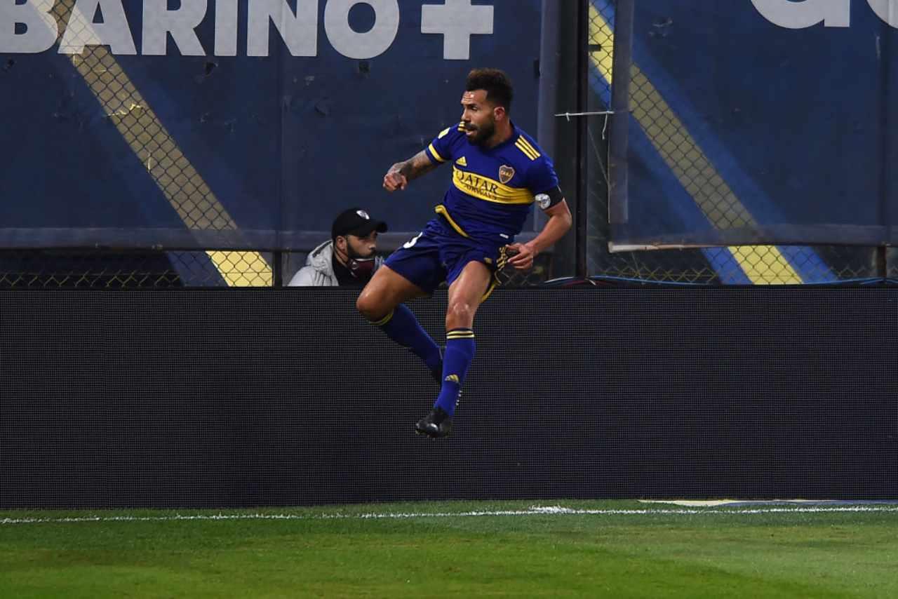Tevez ritiro Boca Juniors