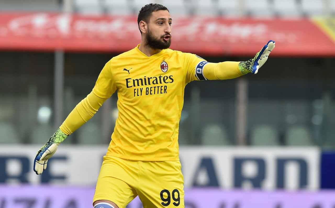 Paratici assist Donnarumma Juventus