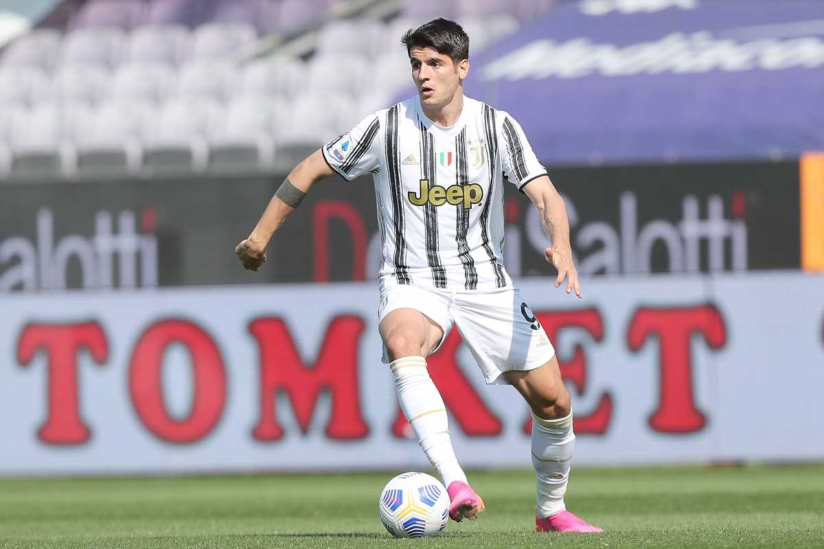 """Juventus, Morata in bilico: """"Non so se giocherò lì"""""""