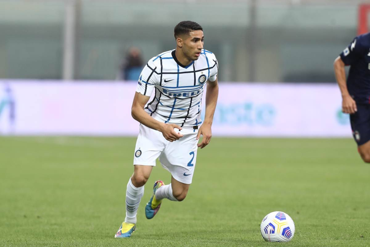 Inter, abbassato il prezzo di Hakimi: PSG ed un altro club alla finestra