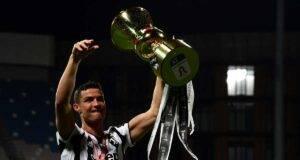Juventus, l'ultimo regalo di Ronaldo: esulta Allegri