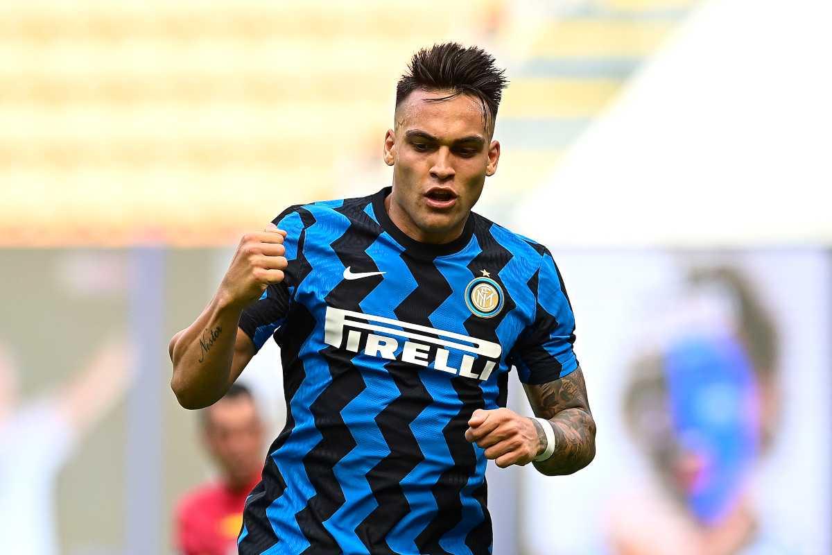 """Inter, sirene spagnole per Lautaro: """"E' un crack!"""""""