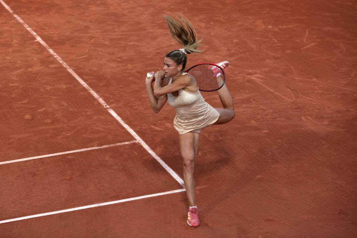 Roland Garros, Gracheva-Giorgi: l'italiana saluta al secondo turno