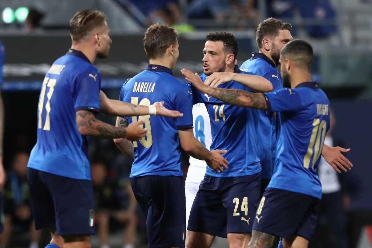 Italia-Rep.Ceca, buon test per gli azzurri: che spavento per Mancini