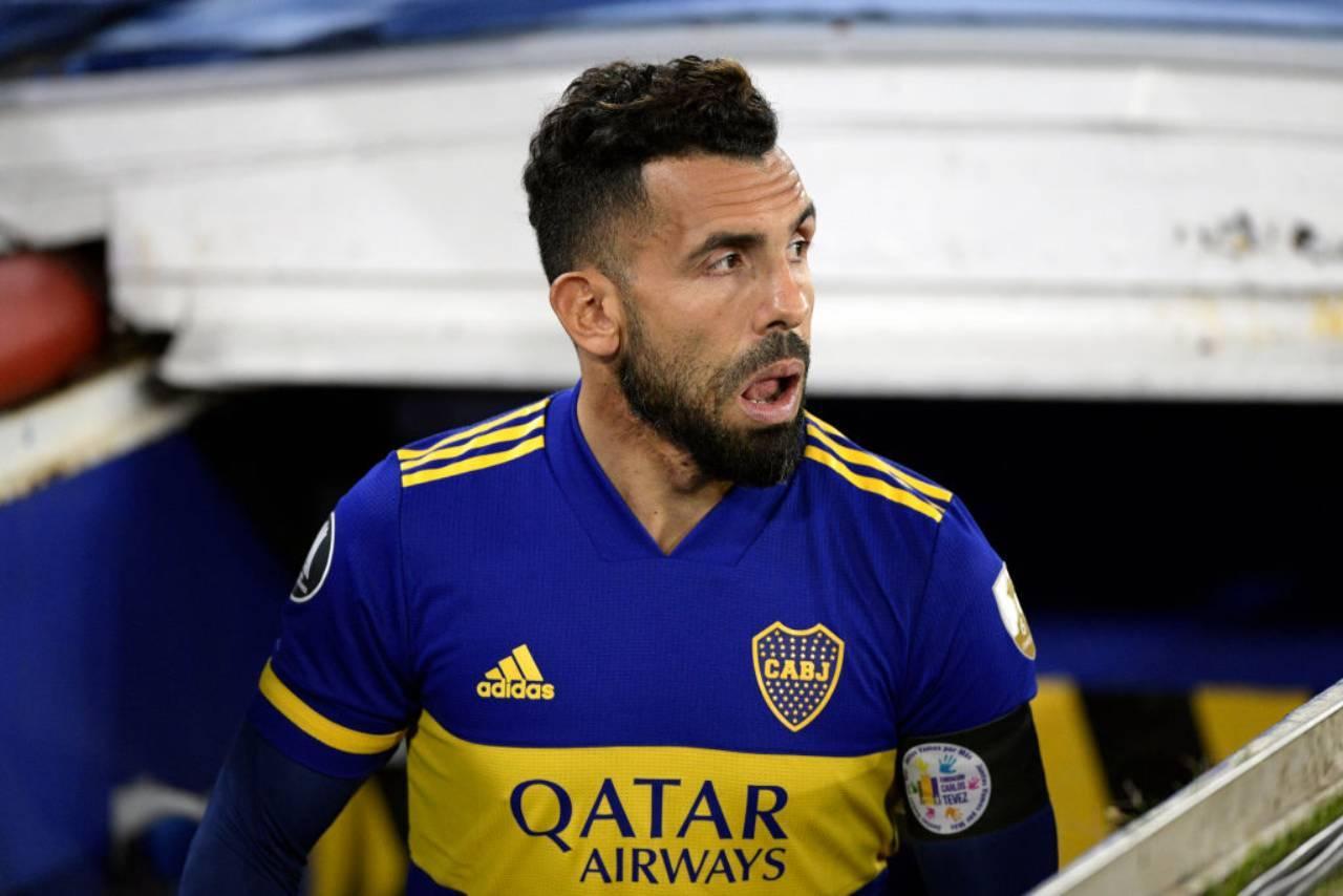 Tevez Boca ritiro