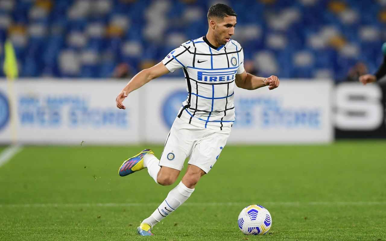 Hakimi Inter Psg ultima disperata offerta Chelsea 55 milioni Marcos Alonso
