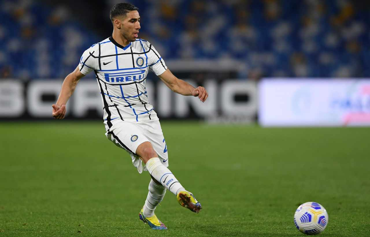 Inter accordo cifra Hakimi PSG 70 milioni