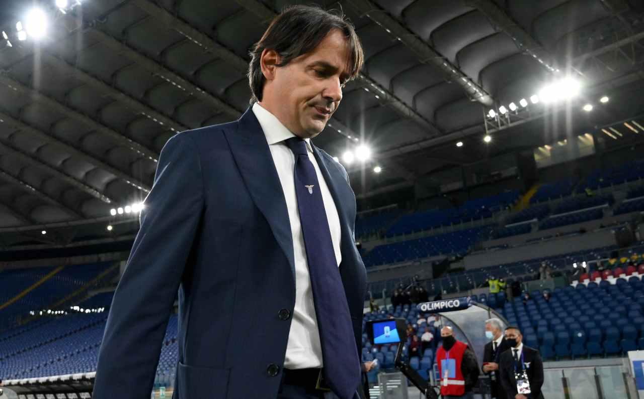 Scontro Lazio Inter Lotito Inzaghi Caicedo Radu