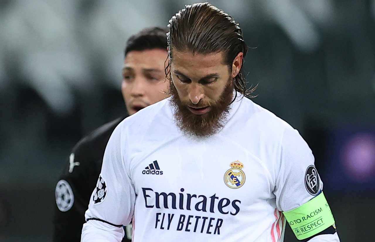 Sergio Ramos telefonata Mourinho Roma