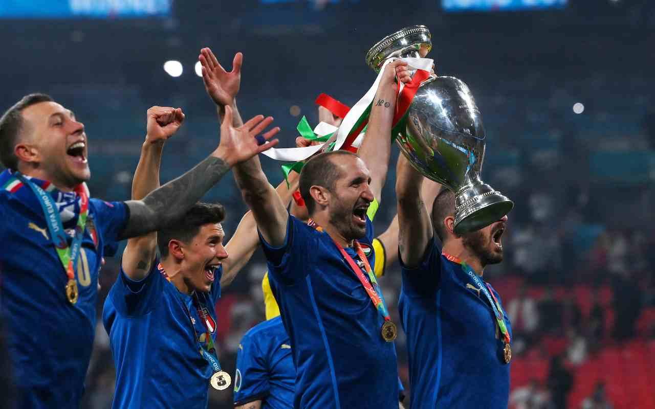 Chiellini finale Euro 2020 Inghilterra episodio rigore Saka Kiricocho