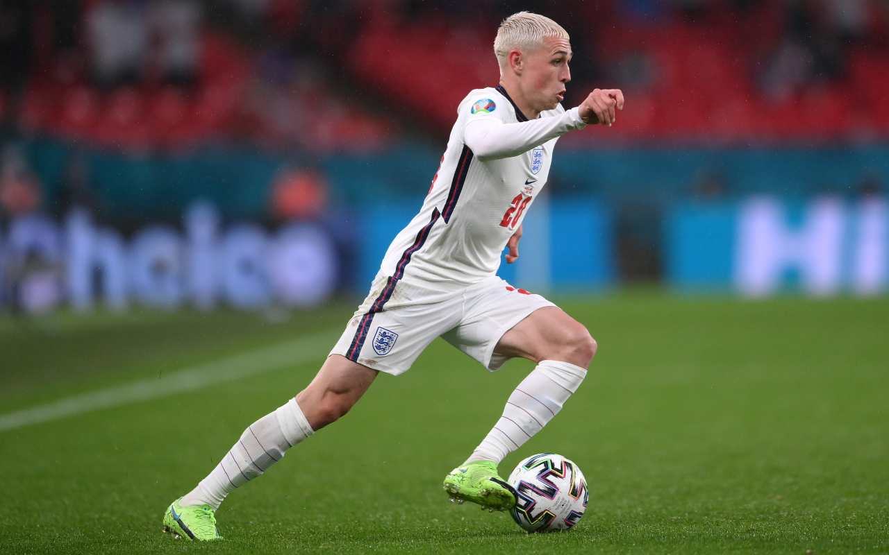 Finale Euro 2020 Italia Inghilterra Foden forte rischio infortunio ginocchio