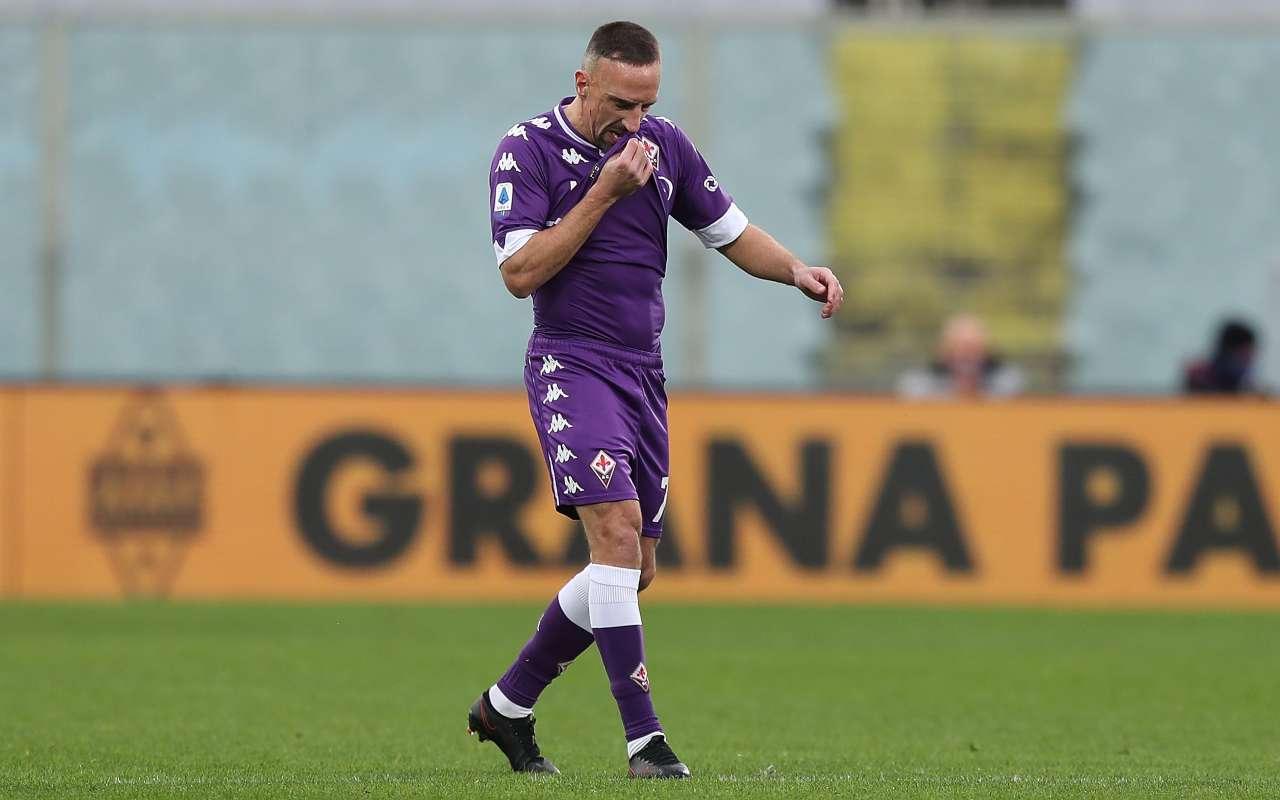 Ufficiale Ribery lascia la Fiorentina svincolato