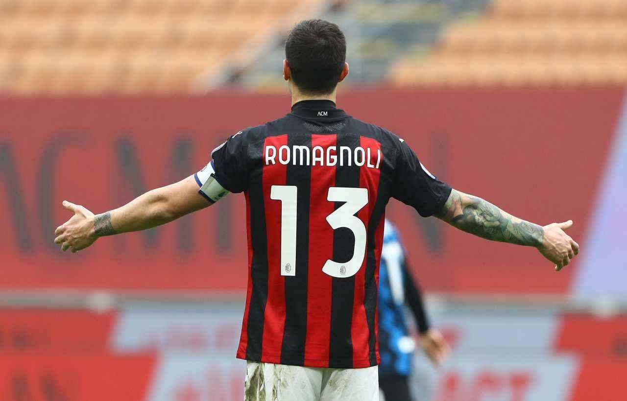 Calciomercato Milan, Romagnoli verso la Juventus