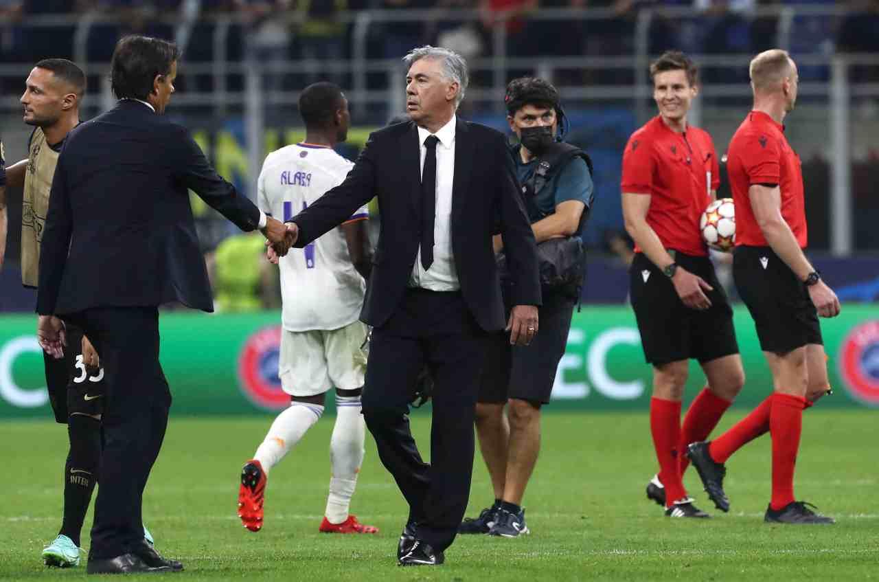 Inter, Ancelotti estasiato: vuole un talento di Inzaghi a Madrid!