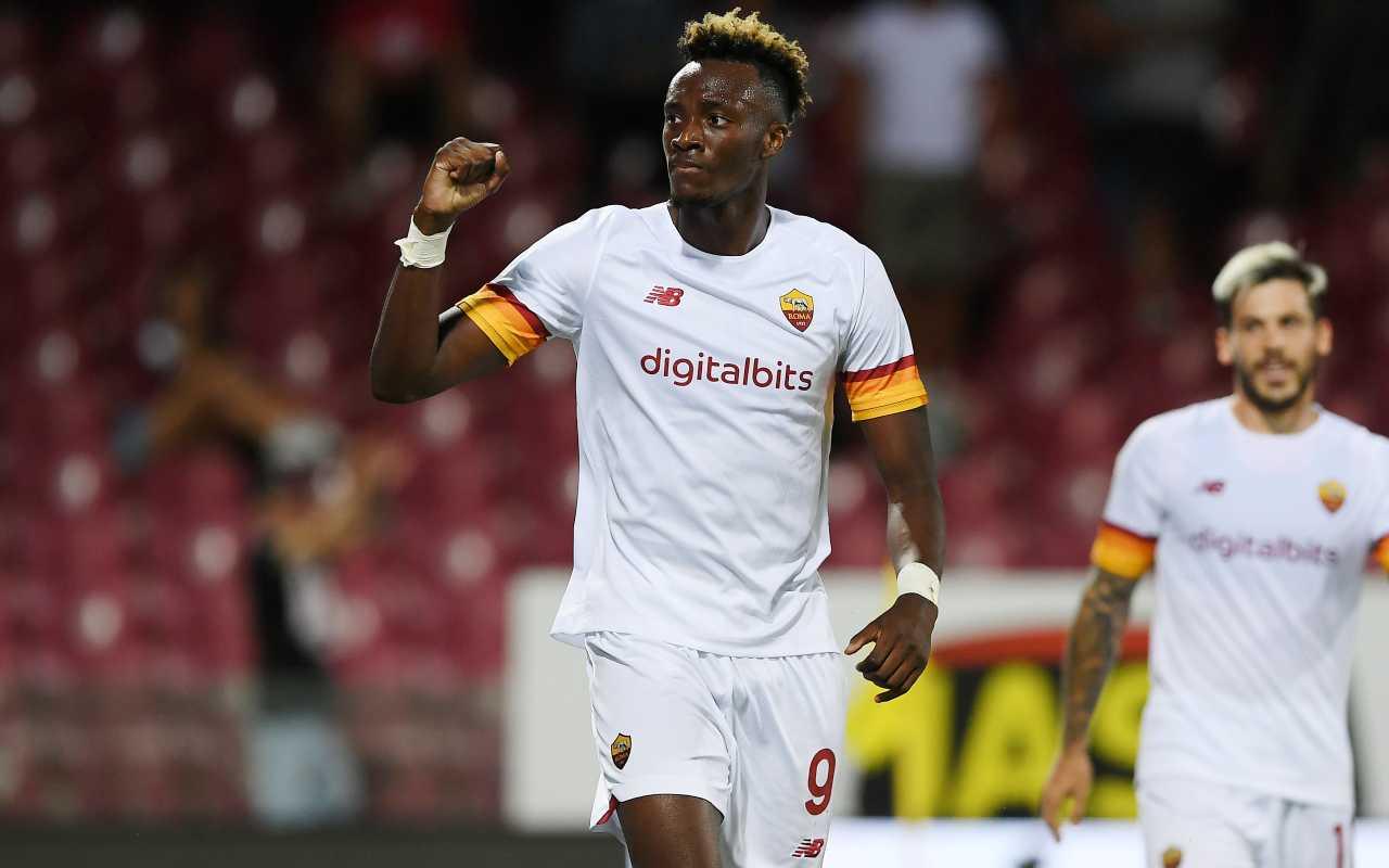 Calciomercato Roma Abraham addio recompra Chelsea 80 milioni