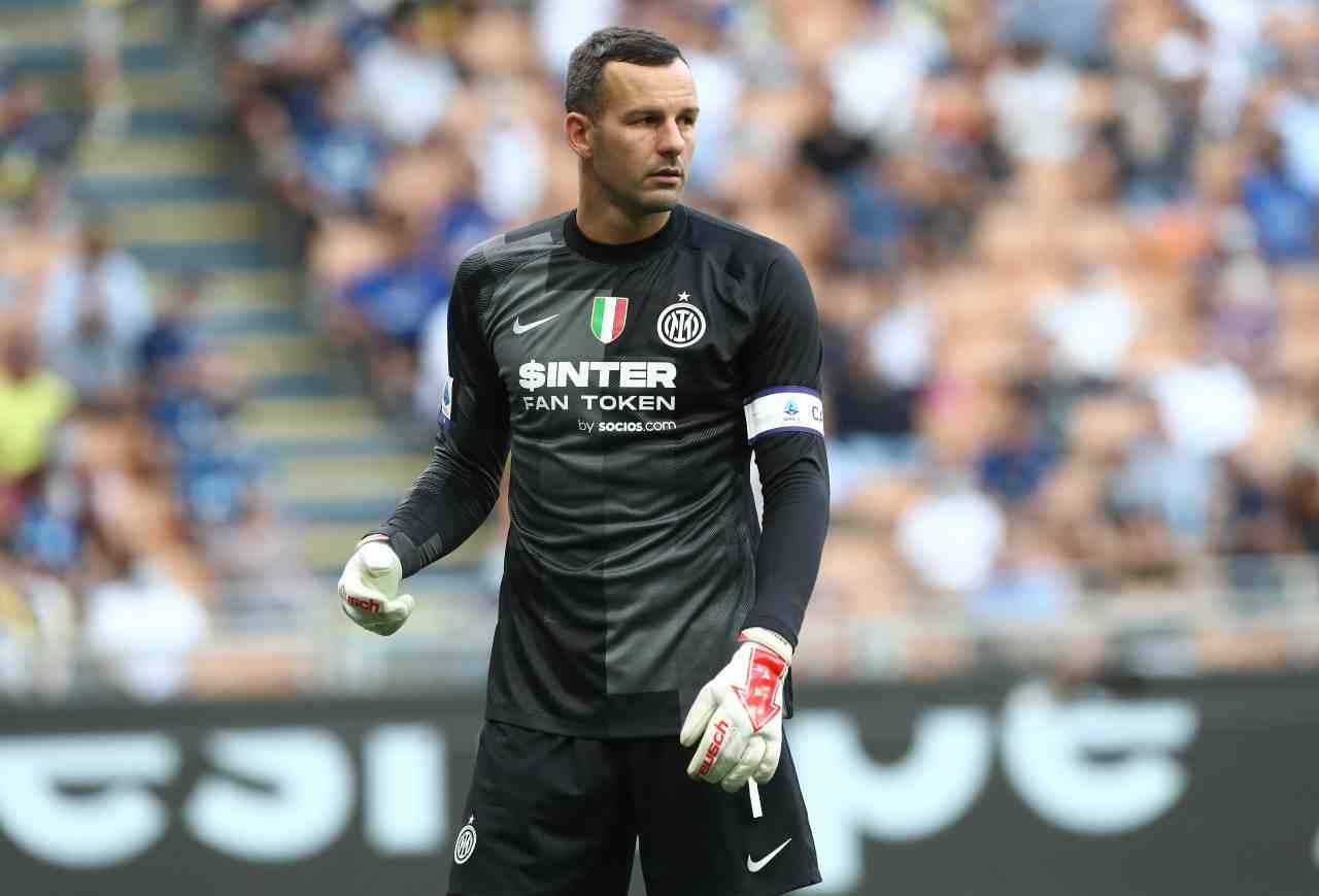 Calciomercato Inter, futuro Handanovic