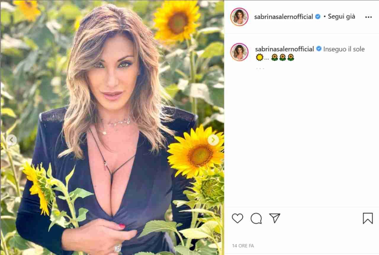 Sabrina Salerno strepitosa