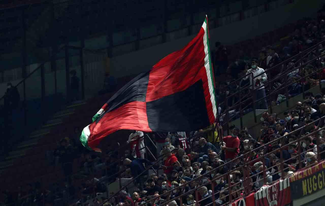 Tifosi Milan-Venezia