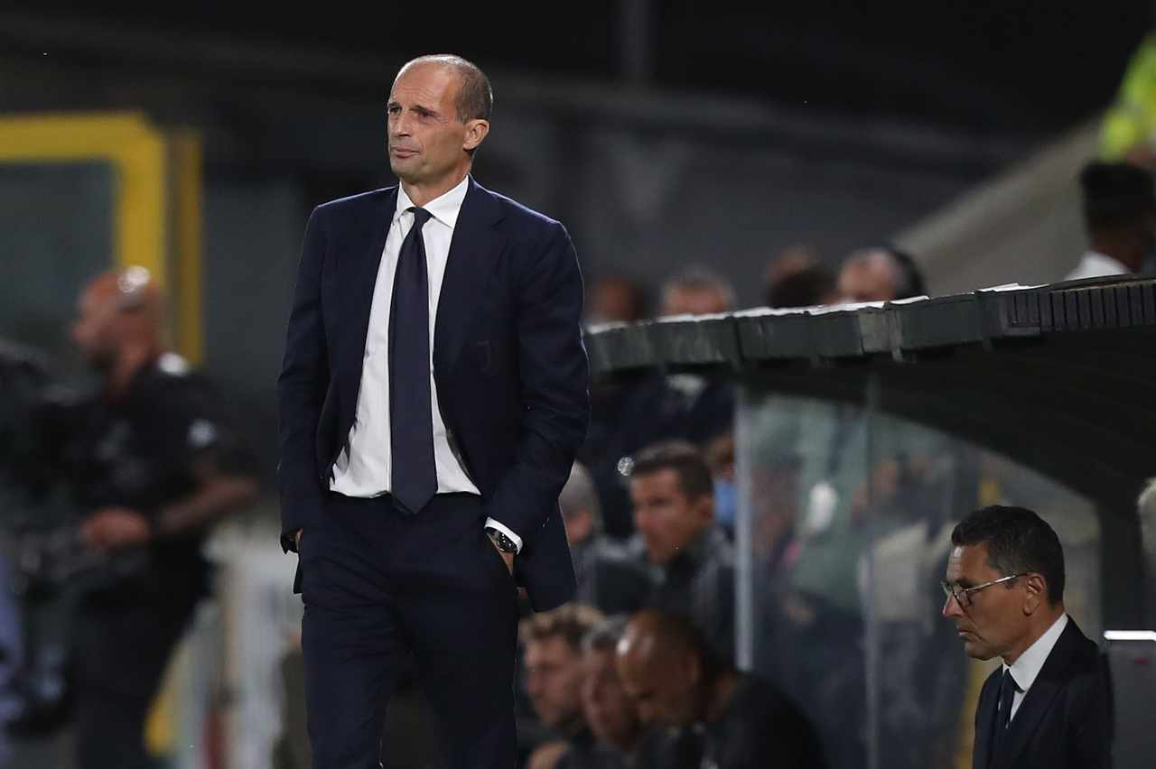 Calciomercato Juventus, tifosi contro Allegri
